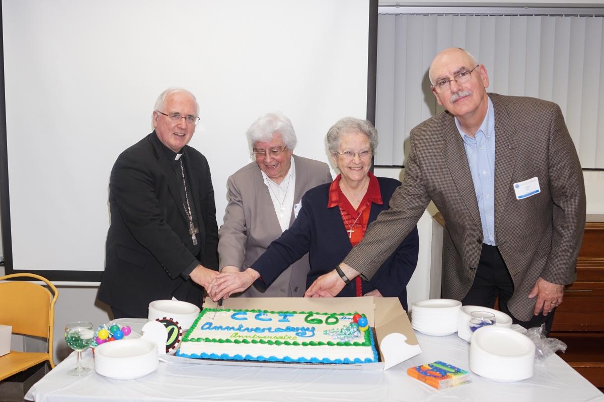 Scene from CCI's 60th anniversary celebration in 2015.
