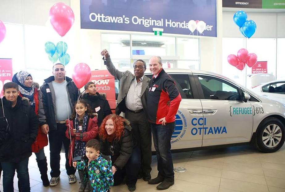 Honda Odyssey van donated to CCI Ottawa