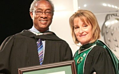 Honorary degree for Carl Nicholson