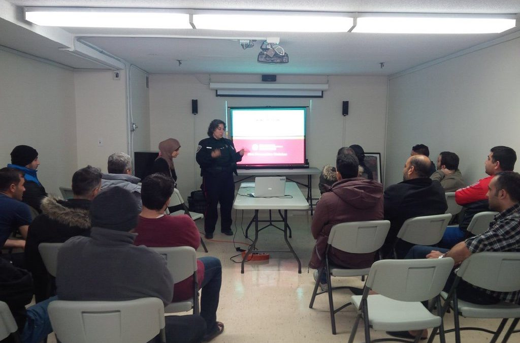 Tri- Services Workshop: Orienting Refugees to Emergency Services in Ottawa