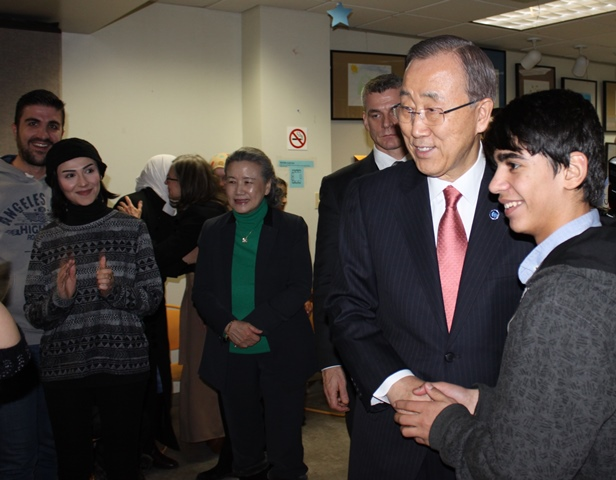 UN Secretary General visits CCI
